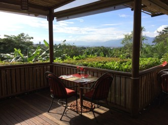 Have breakfast overlooking the Central Valley of Costa Rica