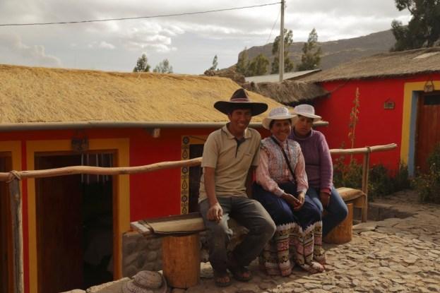 Our hosts in Coporaque, Peru