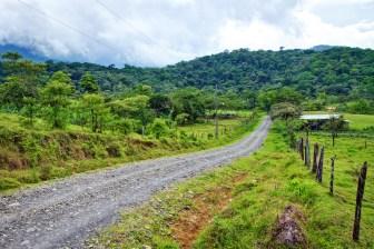 The rural community of Guatuso near the Tenorio Volcano National Park in Costa Rica
