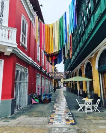 Antique republican buildings and alleys of El Callao's downtown, not long ago forgotten are now rescued and shine with a bohemian style