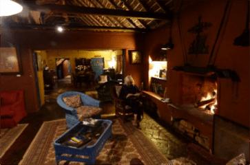 Resting at Hacienda El Porvenir, near Cotopaxi National Park in Ecuador