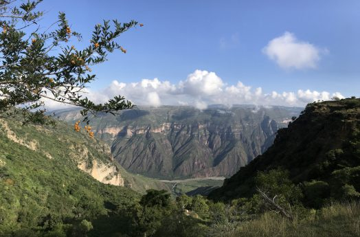 View over the Chicamocha Canyon, trekking from Villanueva to Jordan, Santander, Colombia