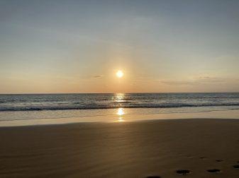A magical sunset in Manzanillo in the Nicoya Peninsula, Costa Rica