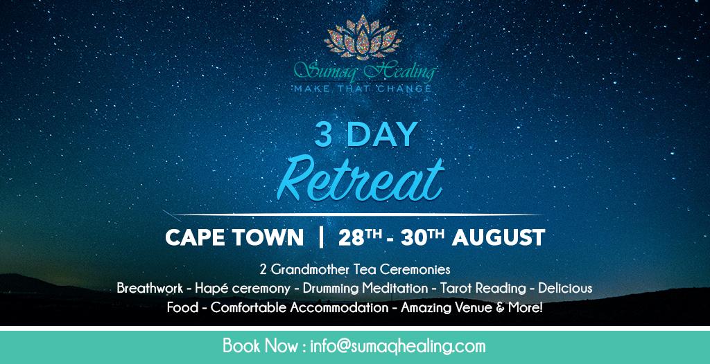 Cape Town 3-Day Spiritual Retreat 28th-30th August 2020