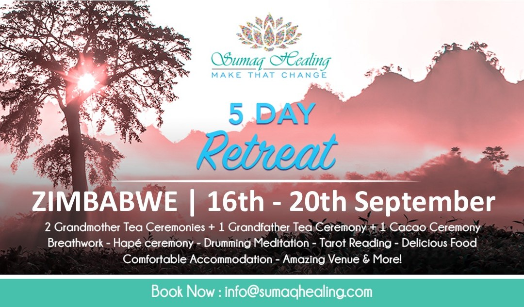 Zimbabwe 5 Day Shamanic Spiritual Retreat 16th – 20th September 2020