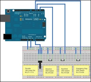 Arduino Controls and a Simple Throttle | Electronics