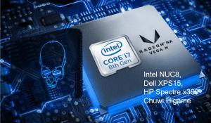 AMD radeon rx vega mのグラフィックドライバーの更新について(intel NUC8, dell XPS15, HP Spectre x360,chuwi Higame対象)