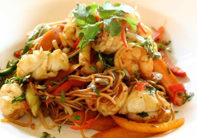 seafood stirfry