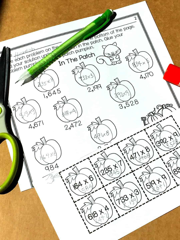 Free Multi Digit Multiplication Worksheets