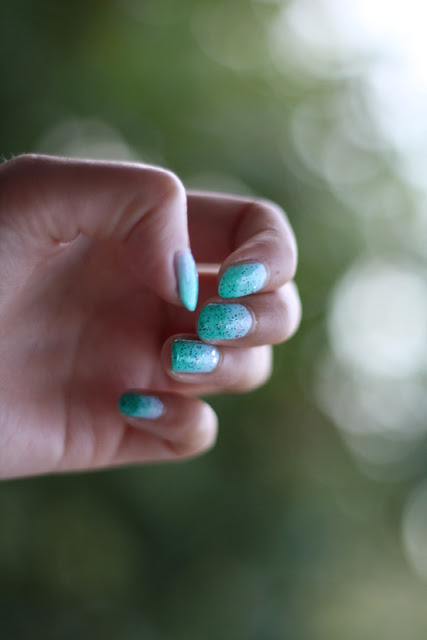 Mermaid Ombre Nails