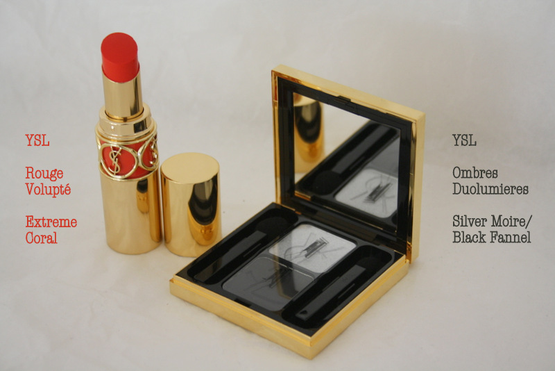 Extreme Coral and Silver Moire – YSL