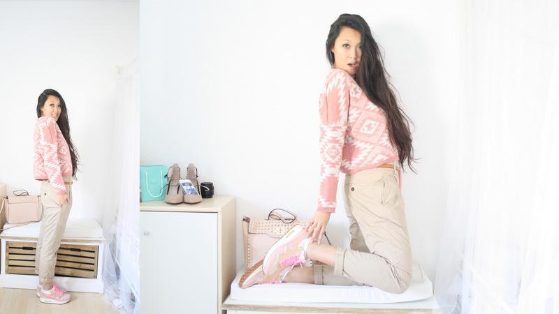 Air Max Girl – Pink Navajo