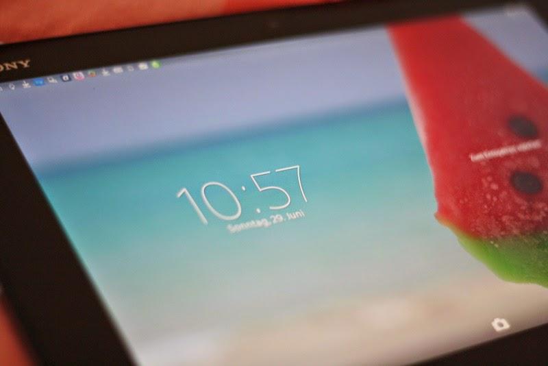 Neuer Spielgefährte: Sony Xperia Z2 Tablet
