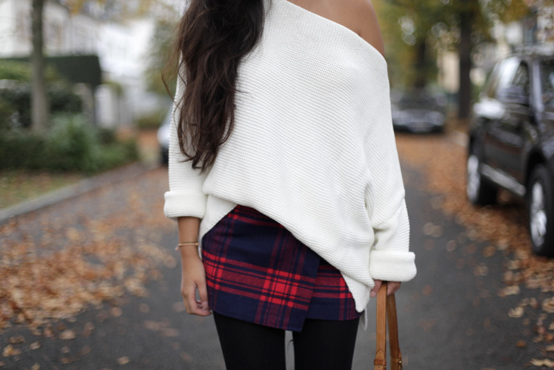 Off-Shoulder Knit and plaid, der Weihnachtsgrinch und the great instagram rapture!