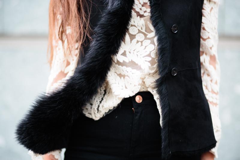 Black. Lace. Joop.