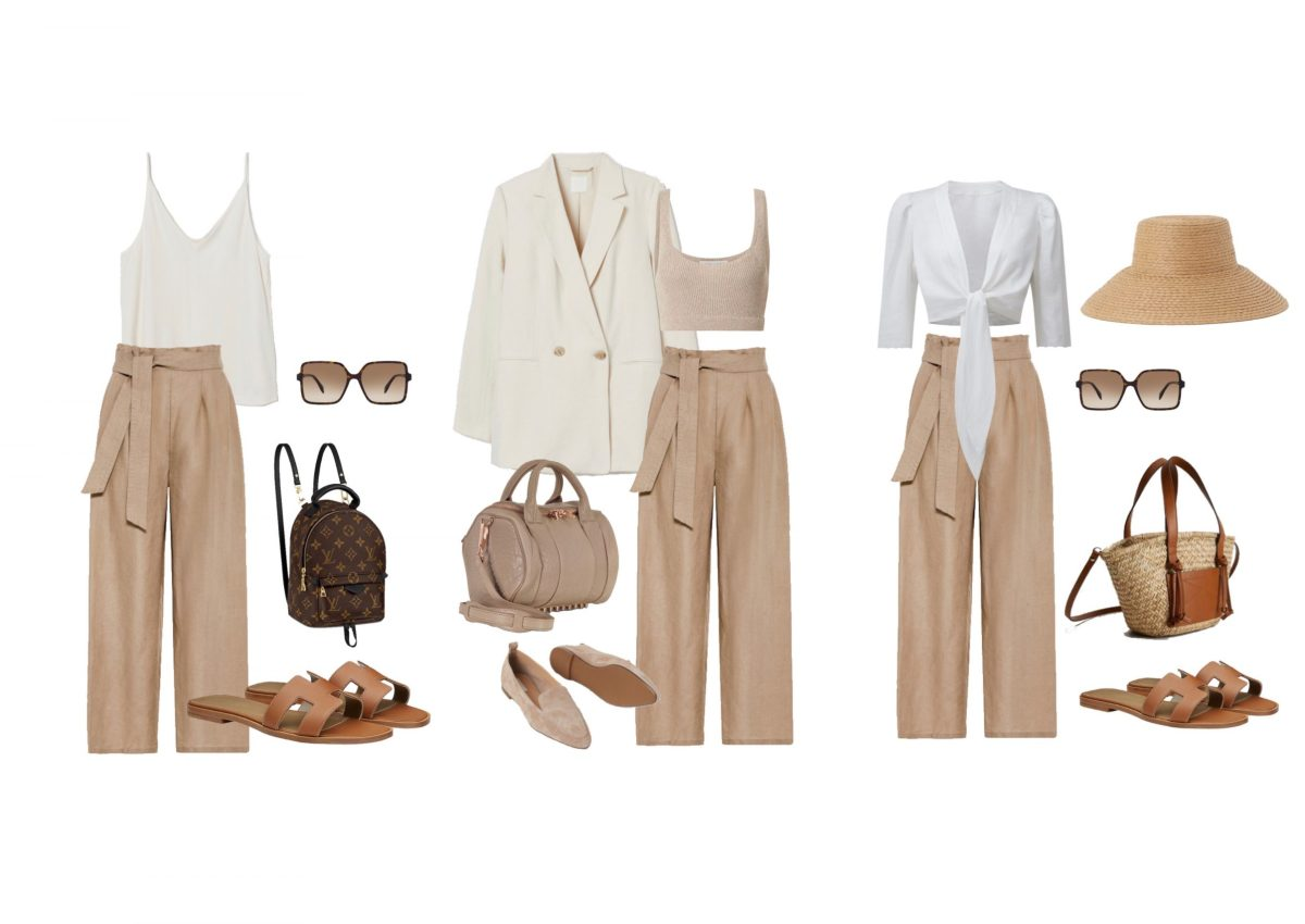 How to style: (Leinen-) Culottes.