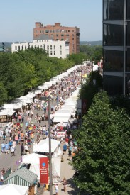 Omaha Summer Arts Festival_Aerial View