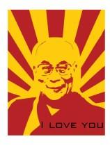 The Dalai Lama loves you