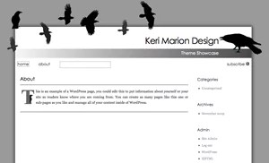 Crows: A Free WordPress Theme