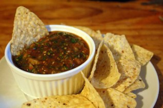 Roasted Jalepeno Tomatillo Salsa