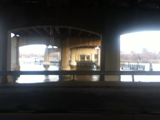 Under the (Red) Bridge (Downtown)