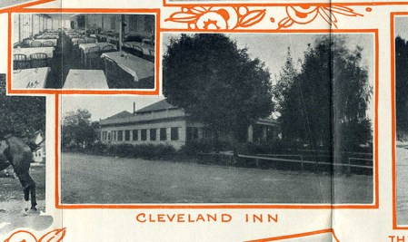 The Cleveland Inn as it appeared in the late 1920s. Don Woodward collection.