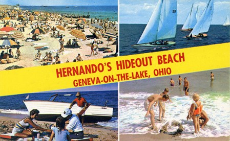 Given that the marketing department at Hernando's Hideout chose ocean beach scenes for their shoreline, it is likely that if they had depicted their gas pumps, it would have looked like a truck stop with 60 pumps.