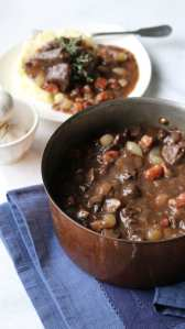 beef, beef bourguignon, boeuf, mastering the art of French cooking, catering, Julia child, French, cooking, home cooked, easy, entertaining, prepared foods, classic