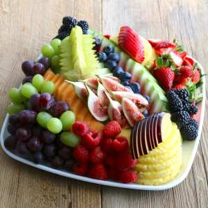 fruit, platter, chef, julienne, catering, seasonal, fresh