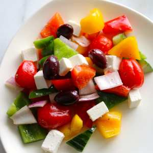 greek, greek salad, salad, catering, per person, fresh