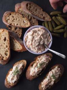 dip, spread, smoked trout, entertaining, deli, prepared foods