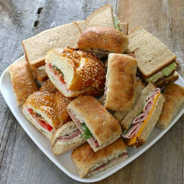 sandwiches, catering, Toronto, we cater, summerhill, turkey, whole wheat, office catering