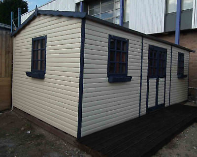 10FT x 10FT ULTIMATE LOG CABIN SUMMER HOUSE OFFICE BAR SHED HIGH QUALITY TIMBER
