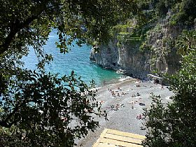 Arienzo Beach Beach in Amalfi Coast Italy