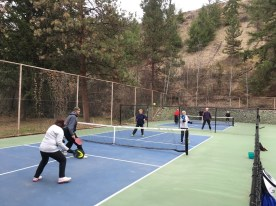 First Pickleball Outdoor Games 2018, Summerland Pickleball Club
