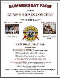 Guns N Hoses Concert Flyer