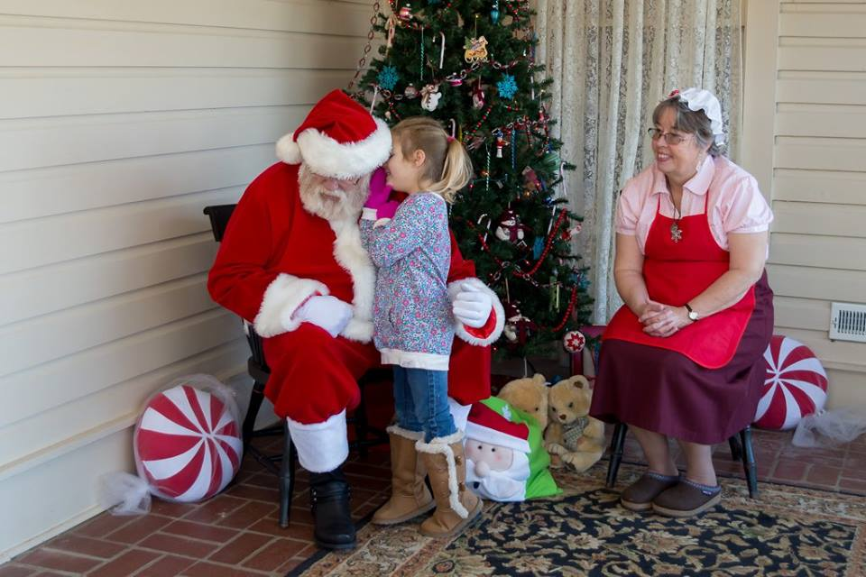 Santa will be at Summerseat!
