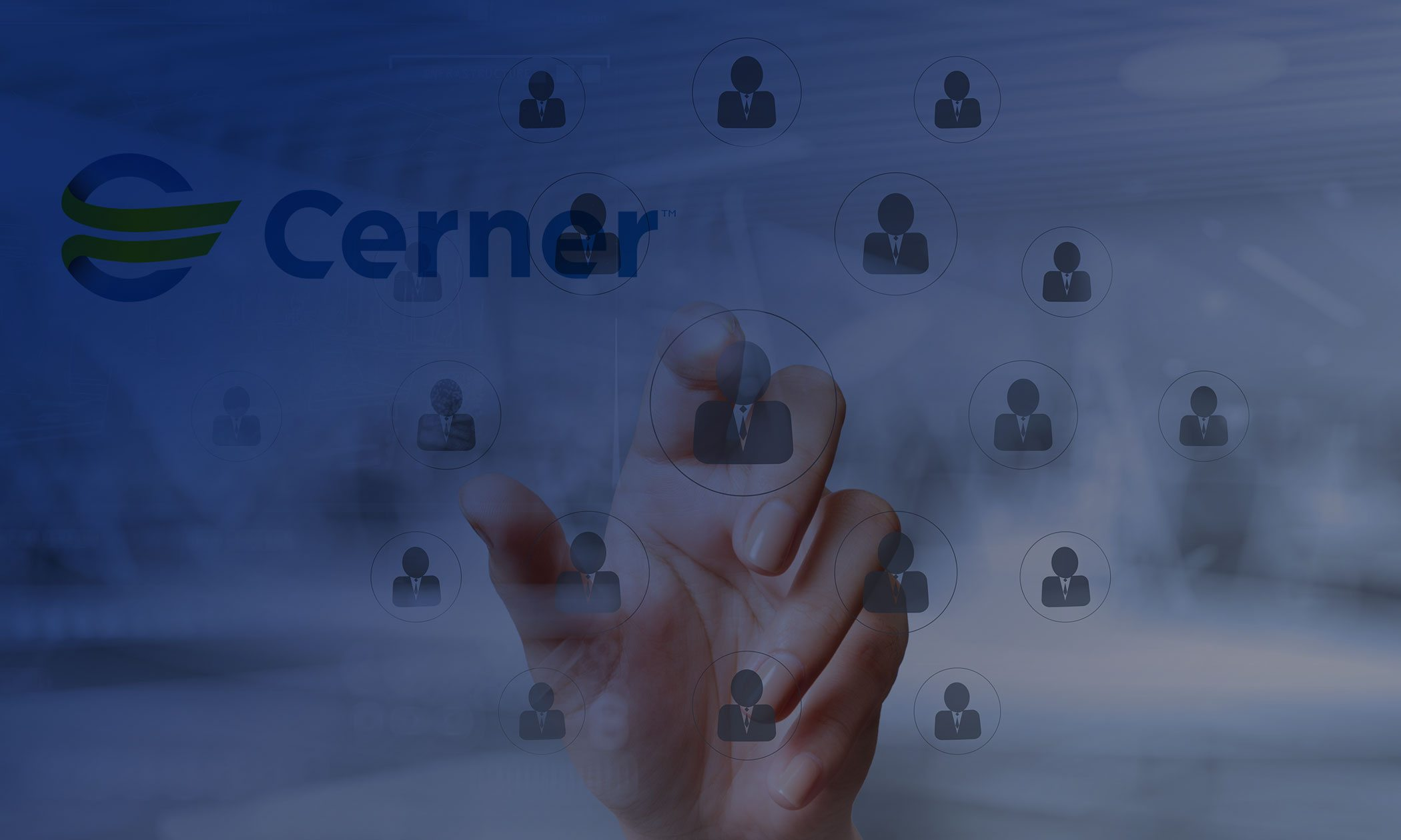 Cerner Partner Solutions page title background