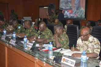 General Officers Commanding of the Nigerian Army