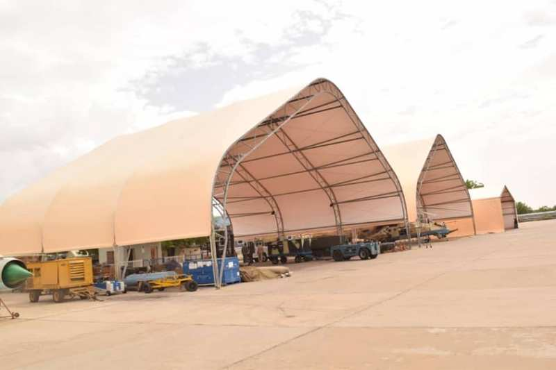 Nigerian Air Force Aircraft Shelters