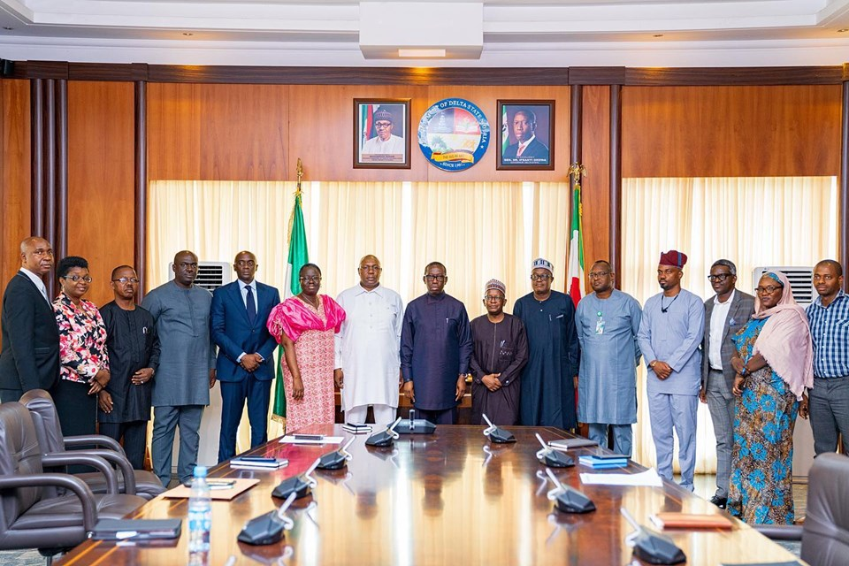 Federal Ministry of Health Courtesy Visit to Delta State Governor, Dr Ifeanyi Okowa