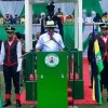 Governor Nyesom Wike speaking at Nigeria 59th Independence Anniversary Celebration in Rivers State
