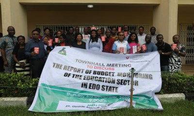 Group Photograph of Participants at the Town hall Meeting Convened by ANEEJ