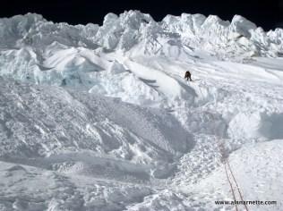 Climbing Alpamayo
