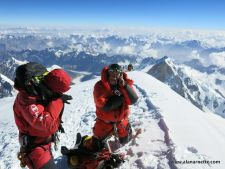 Alan on K2 Summit July 27, 2014