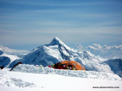 Mt Hunter from Denali