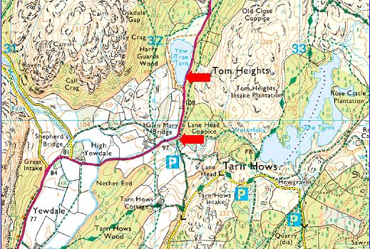 "Sun 12th Feb – Black Crag & Holme Fell <span class=""dashicons dashicons-calendar""></span> <span class=""dashicons dashicons-location""></span>"