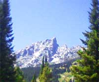 Grand Teton range, focus of the Royal Teton Retreat