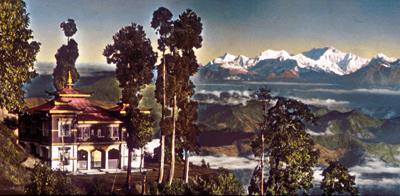 Darjeeling, etheric retreat