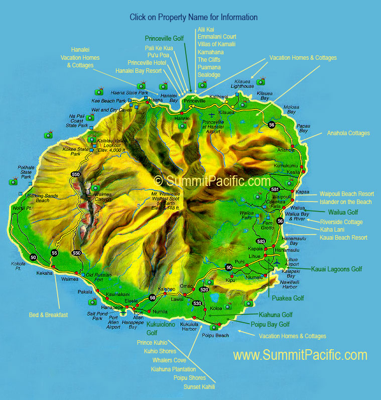 National Rental Big Island Hawaii Locations